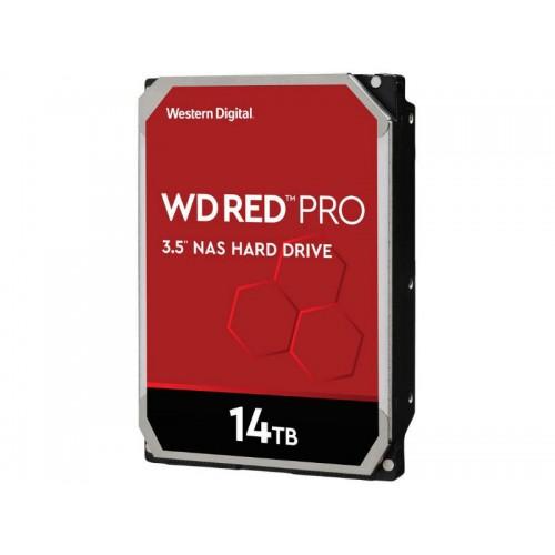 """HDD 3.5"""" 14TB Western Digital Red Pro NAS SATA3 7200 RPM 512MB WD141KFGX"""