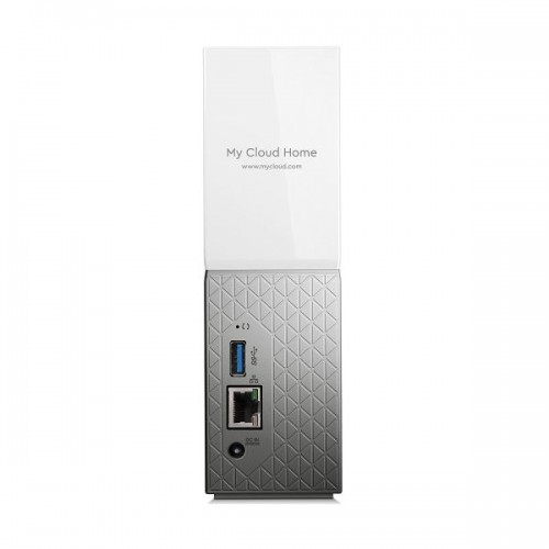 "HDD External 3.5"" 4TB Ethernet NAS Western Digital My Cloud Home Storage Personal"