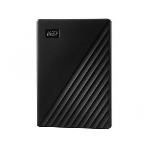 "HDD External 2.5"" 1TB USB 3.2 Western Digital My Passport Black w/ Hardware Encryption"