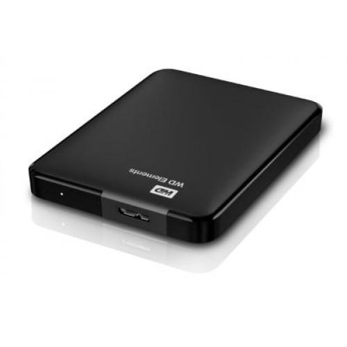 "HDD External 2.5"" 1TB USB 3.0 Western Digital Elements Portable Black"