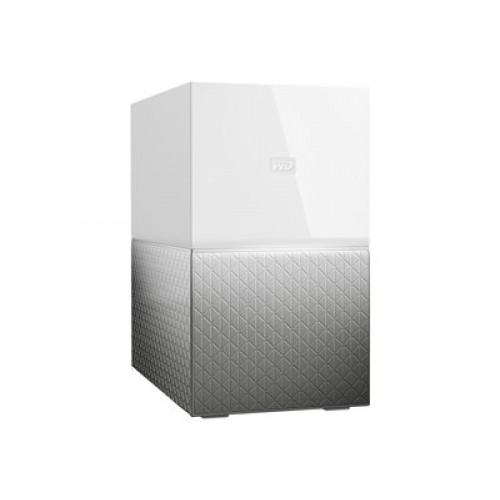 "HDD External 3.5"" 8TB Ethernet NAS Western Digital My Cloud Home DUO Storage Personal"