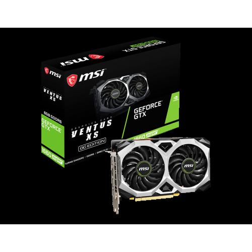 MSI GeForce GTX 1660 SUPER VENTUS 6GB GDDR5 OC HDMI/DPx3 DX12 TORX 2.0