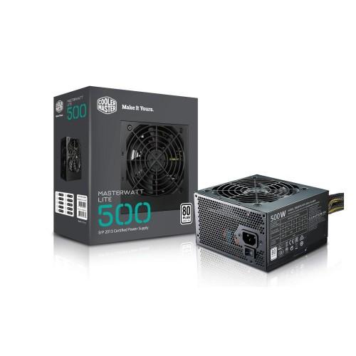 PSU 500W CoolerMaster MasterWatt Lite 80Plus , 12cm FAN
