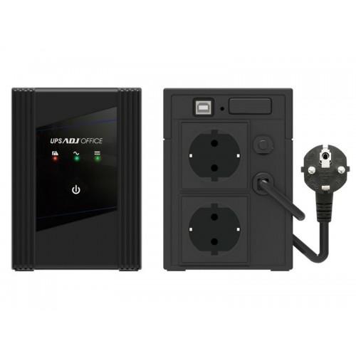 UPS ADJ Office 1400VA/940W 2xSchuko/USB