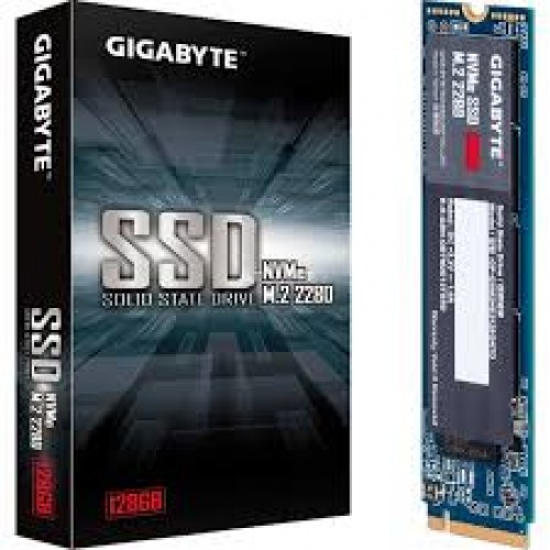 SSD M.2 2280 Gigabyte NVMe 128GB PCIe 3.0 x4 1550/550 MB/s